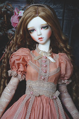 Ancient Rose (AyuAna) Tags: bjd ball jointed doll dollfie ayuana design minidesign handmade ooak clothing clothes dress set outfit fashion couture historical secession style sewing sewingfordolls sadol love60 yena whiteskin