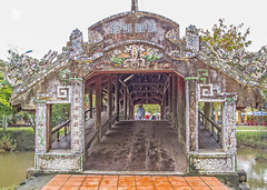 IMG_5167 Thanh Toan 300year old Japanese covered bridge, near Hue Vietnam (briancarrollphotos) Tags: coveredbridge huevietnam hue thanhtoanbridge