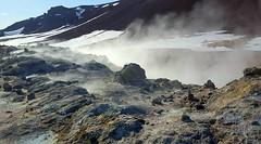 Namafjall steaming