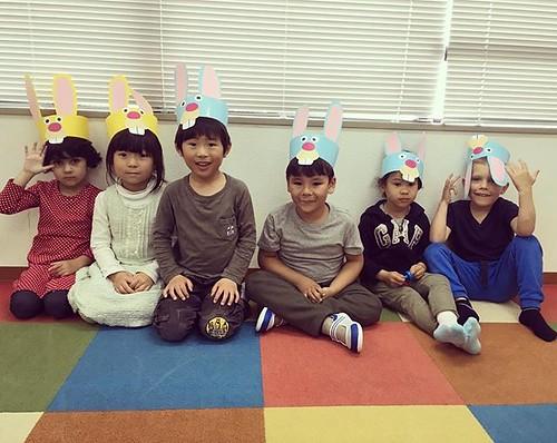 The Easter bunny is coming! 🐤 Starkids International Preschool, Tokyo. #starkids #international #preschool #school #children #kids #kinder #kindergarten #daycare #fun #shibakoen #minatoku #tokyo #japan #instakids #instagood #twitter#子供 #幼稚園 #保育