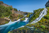 The oasis of green (FotoSeiler) Tags: ifttt 500px oasis green water waterfall river rocks blue life vivid sky nikon d810 iceland