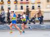 Corredores. (Salvamat.) Tags: maratón corredor barrido