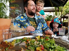 Eating with kids (quinn.anya) Tags: andy sam paul toddler preschooler cafecolucci ethiopian