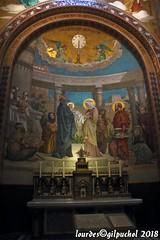Lourdes 104-A (José María Gil Puchol) Tags: aquitaine autel basilique catholique cathédrale eau eaumiraculeuse fidèle france josémariagilpuchol lourdes paysbasque pélèrinage religion