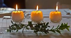 Kerzenlicht /  Candlelight (schreibtnix on 'n off) Tags: deutschland germany bergischgladbach kerzen candles licht light kerzenlicht candlelight nahaufnahme closeup strukturen structures olympuse5 schreibtnix