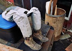 Disembodied Dummy Legs (Jetcraftsofa) Tags: nikonf3 nikkor2828 portra800 35mm slr filmphotography dummylegs disembodied