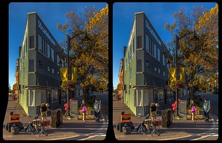 Sudbury Flat Iron Building 3-D / CrossEye / Stereoscopy / HDR /Raw