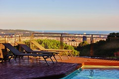 By the deck (Jaflong Productions) Tags: panoramic panorama landscape land sea water sky cloud clouds building buildings sculpture architecture sunshine mediterranean mediterraneansea trees tree mountains mountain hills hill swimmingpool pool swim home chill colours colour art travel travelblog travelphotography travelgram travelling voyage reise holidays vacation explore explorer work vsco vscocam vscocool vscodaily vscogood vscogram vscogrid vscophile vscophoto vscopic vscoph summer barcelona catalunya catalunia catalan spain espana photo instagram shutterstock flickr