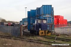 180405-007  499 (Derek Wilson Rail Photo's) Tags: shirebrook whdavis andrewbarclay industriallocos industrialdieselshunters