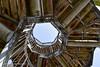 Looking up the Watch Tower (simonevanbergen) Tags: 2018 landgoeddeutrecht netherands simonevanbergen spring svb tower estate land marshland nature naturereserve swamp trees watchtower water