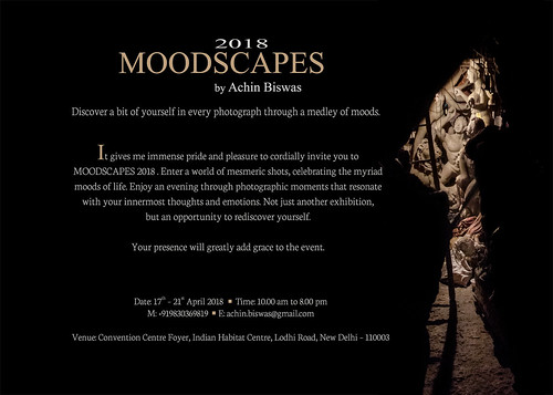 Moodscapes 2018 by Achin Biswas