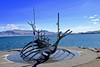 The Sun Voyager (Bakuman3188) Tags: jetty waterfront riverbank boardwalk dock beach horizon over water coastline pier waters edge shore coast iceland island reykjavik the sun voyager sonnenfahrt アイスランド レイキャヴィーク sólfar