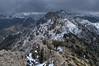 Saliendo del sendero (Aristides Díaz) Tags: alayosdeldilar montaña paisaje sierranevada cielonuboso nubarrones cielogris treking nikkor1855afsged