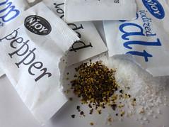 Salt & Pepper In Paper (arbyreed) Tags: arbyreed macromondays condiment close closeup salt pepper paper saltandpepperpackets