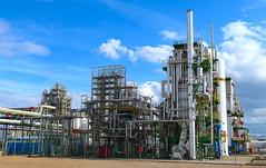 Factoría PeroxyChem en La Zaida, Zaragoza (eustoquio.molina) Tags: factoría factory fábrica plant peroxychem la zaida zaragoza peróxido química