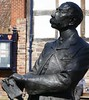 Elgar (jacquemart) Tags: elgar bronze statue hereford cathedralclose homage