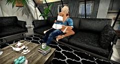 """Just the 2 of us """"escape"""" by Dictatorshop (Cara Sorex) Tags: blog decor dictatorshop furniture illuminateevent secondlife"""
