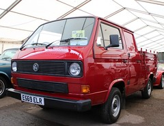 E569 ELR (Nivek.Old.Gold) Tags: 1987 volkswagen transporter doublecab pickup 1915cc t3 aca