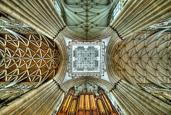 Minster Ceiling (ChrisMaughan) Tags: york roof architecture cathedral sigma ceiling organ minster hdr yorkcathedral sigma1020 tonemap
