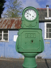 Close up of the Bundy Clock at Kidderminster Town Station (svr_p_way) Tags: birmingham worcestershire svr severnvalleyrailway kidderminster bundyclock kidderminstertownstation birminghamcorporation birminghamcorporationtransport
