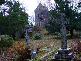 Scottish clan burial site