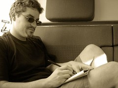 "relaxing on the train • <a style=""font-size:0.8em;"" href=""http://www.flickr.com/photos/70272381@N00/219396804/"" target=""_blank"">View on Flickr</a>"