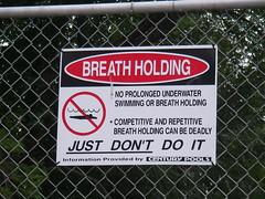 Aguantar la respiraci