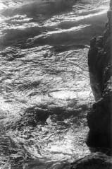 081370 13 (ndpa / s. lundeen, archivist) Tags: ocean sanfrancisco california ca blackandwhite bw film monochrome 35mm coast rocks surf waves pacific august pacificocean oceanbeach sfbayarea 1970 1970s pacificcoast sealrocks centralcalifornia dewolf nickdewolf photographbynickdewolf
