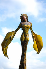 Demeter (wishymom (Stephanie Wallace Photography)) Tags: sky sculpture art clouds demeter pnc dessakirk photofaceoffwinner pfogold