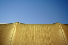 manufactured sand dune (Dill Pixels (THE ORIGINAL)) Tags: light sky abstract texture boat hangar tent stretch illuminated canvas textile yachtclub