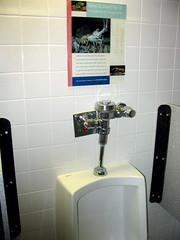 Education + Urinal=...?