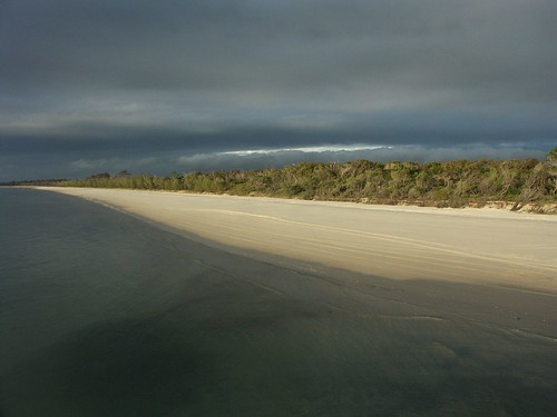 Sunset at Fraser Island