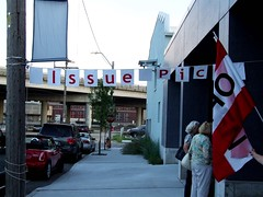 Issue Pics Show on First Friday in the Art District (by gwENvision)