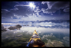 Sun Breaks Through, Mono Lake (Buck Forester) Tags: film canon photography photo bravo kayak searchthebest quality paddl