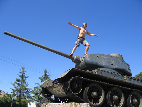 cover image for Tank surfing on Flickr