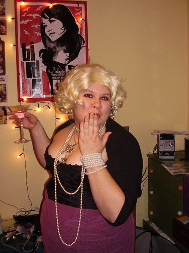 me as Madonna, not Marilyn. Honest.