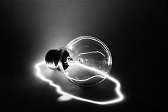 Last Breath (cszar) Tags: bw 15fav topv111 lightbulb 510fav topv333 nikon d70 laser nikkor 50mmf18d