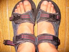 Salty sandals (Albert JL) Tags: sandals salty