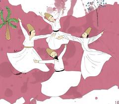 whirling dervishes (criminal) Tags: travel turkey religious sema dervishes whirling whirlingdervishes