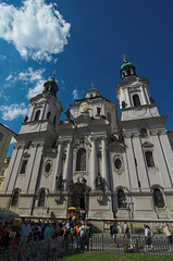 St.. Nicholas' Church (John the Monkey) Tags: church prague praha czechrepublic oldtown stnicholaschurch eskrepublika starometske starometskenamesti