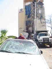 Taba Hilton Destroyed (Hossam el-Hamalawy  ) Tags: egypt terror terrorism taba sinai  tababombings