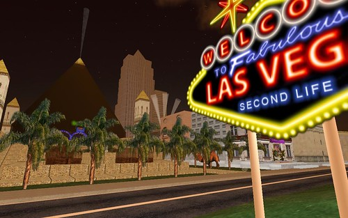 las vegas in second life by mk30.