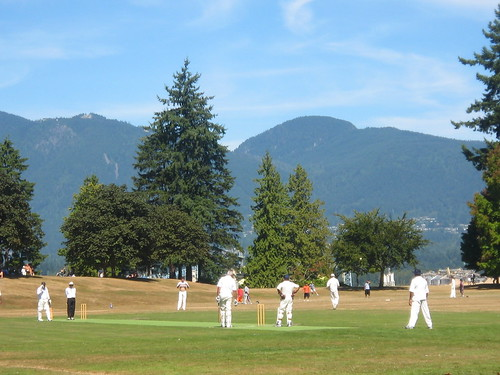 Stanley Park cricketers