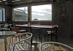Interior, Cafe Makara, Wellington, New Zealand, 7 September 2006