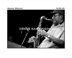 Marva Wright 03.jpg (friedpixphoto) Tags: club blackwhite band baltimore 8x10 sax federalhill marvawright