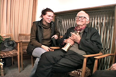 Albert Maysles in the Czech Republic (Press Kit Photo) (Chris Seufert) Tags: cinema film photo al republic czech photos brothers films albert christopher documentary maysles olomouc mooncusser seufert