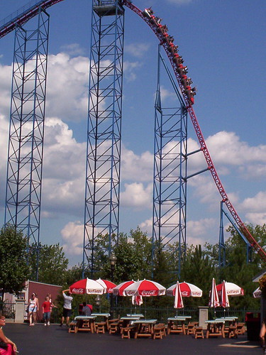 six flags rides. The Six Flags New England