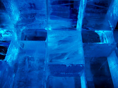 Blue Ice (Stephanie Costa) Tags: blue ice sweden stockholm icebar