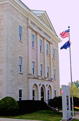 Front of White County Courthouse (Cliff Michaels) Tags: d50 downtown tennessee nikond50 sparta smalltown michaels whitecounty cliffmichaels tennpenny photoscliff