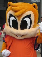 Omiya Ardija squirrel mascot